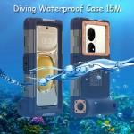 Shellbox Gen2 Diving Waterproof Case 15M Huawei P50,Pro