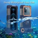 Shellbox Gen2 Diving Waterproof Case 15M iPhone 12,Mini,Pro,Max